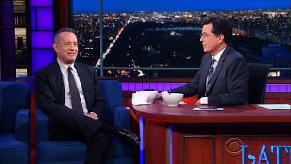 The Late Show with Stephen Colbert - S01E126 - Tom Hanks, Leslie Odom Jr., The Strumbellas, Roy Haynes