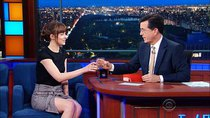 The Late Show with Stephen Colbert - Episode 134 - Dakota Johnson, Sebastian Stan, Lukas Nelson & Promise of the...