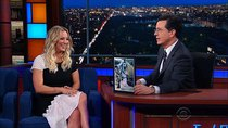 The Late Show with Stephen Colbert - Episode 138 - Kaley Cuoco, Dan Savage, The National