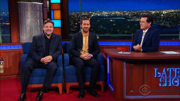 The Late Show with Stephen Colbert - S01E141 - Ryan Gosling, Russell Crowe, Jessie Mueller, Animal Collective