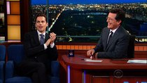 The Late Show with Stephen Colbert - Episode 142 - Matt Bomer, Zach Woods, Nick Griffin