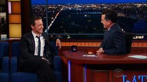 The Late Show with Stephen Colbert - Episode 150 - James McAvoy, Nick Swardson, Brian Greene