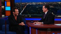 The Late Show with Stephen Colbert - Episode 154 - Jude Law, Norman Reedus, Hundred Waters with Skrillex featuring...