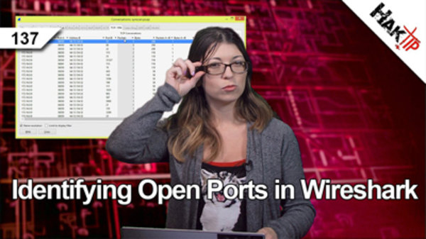 HakTip - S01E137 - Identifying Open Ports in Wireshark