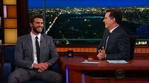 The Late Show with Stephen Colbert - Episode 160 - Liam Hemsworth, Ana Gasteyer, Paul Mecurio