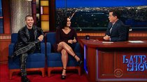 The Late Show with Stephen Colbert - Episode 161 - Demi Lovato, Nick Jonas, Amy Ryan