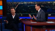 The Late Show with Stephen Colbert - Episode 162 - Aaron Paul, Michael Ian Black, Silversun Pickups