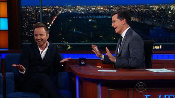 The Late Show with Stephen Colbert - S01E162 - Aaron Paul, Michael Ian Black, Silversun Pickups