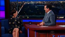 The Late Show with Stephen Colbert - Episode 164 - Aubrey Plaza, Hugh Dancy, Andrew Zimmern