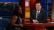 The Late Show with Stephen Colbert - Episode 165 - Uzo Aduba, Neil deGrasse Tyson, Adia Victoria
