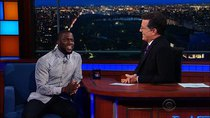 The Late Show with Stephen Colbert - Episode 167 - Kevin Hart, Taylor Schilling, RuPaul Charles