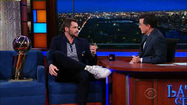 The Late Show with Stephen Colbert - S01E168 - Kevin Love, Jenny Slate, Dierks Bentley
