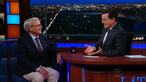 The Late Show with Stephen Colbert - S01E169 - Tom Brokaw, Sarah & Erin Foster, Bibi Bourelly
