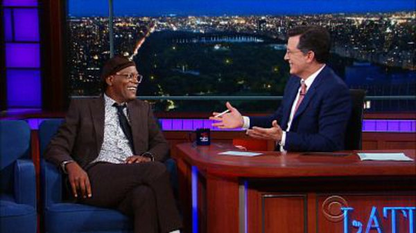 The Late Show with Stephen Colbert - S01E170 - Samuel L. Jackson, Julie Klausner, ScHoolboy Q