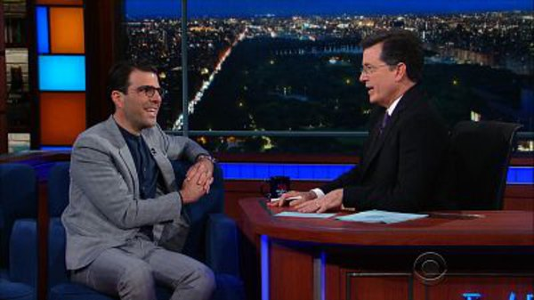 The Late Show with Stephen Colbert - S01E172 - Zachary Quinto, Natasha Lyonne, 2 Chainz