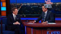 The Late Show with Stephen Colbert - Episode 173 - Bryan Cranston, Busy Philipps, Blink-182