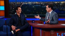 The Late Show with Stephen Colbert - Episode 175 - Benjamin Bratt, Rob Corddry, The Shelters