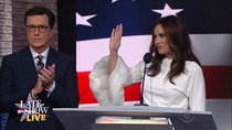 The Late Show with Stephen Colbert - Episode 179 - RNC, Keegan-Michael Key, Kathryn Hahn, Jenny Lewis & NAF