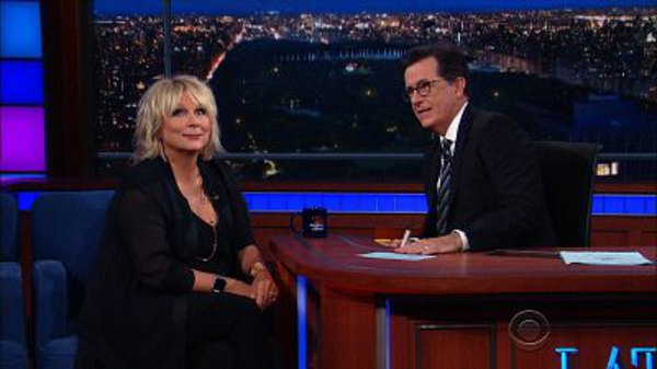 The Late Show with Stephen Colbert - S01E182 - Jennifer Saunders
