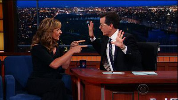 The Late Show with Stephen Colbert - S01E183 - DNC, Allison Janney, Anthony Weiner, Ryan Adams