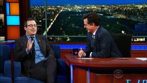 The Late Show with Stephen Colbert - Episode 185 - DNC, John Oliver, Jai Courtney, Charlamagne Tha God, DMC