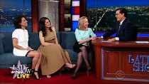 The Late Show with Stephen Colbert - Episode 186 - DNC, Abbi Jacobson, Ilana Glazer, Doris Kearns Goodwin, Eric...