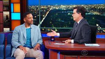 The Late Show with Stephen Colbert - Episode 189 - Will Smith, Logan Lerman, Tony Bennett