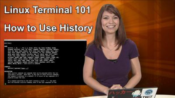HakTip - S01E74 - Linux Terminal 101: How to Use History