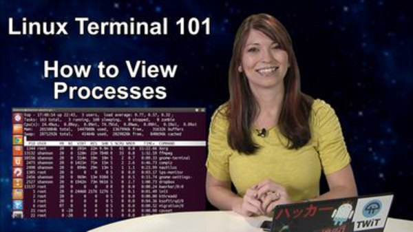 HakTip - S01E77 - Linux Terminal 101: How to View Processes