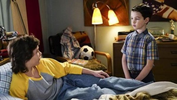 Young Sheldon - S01E09 - Spock, Kirk, and Testicular Hernia