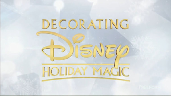 Disney Parks - S01E12 - Decorating Disney: Holiday Magic