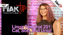HakTip - Episode 167 - How to Use Cat, Sort, and Uniq: Linux Terminal 201