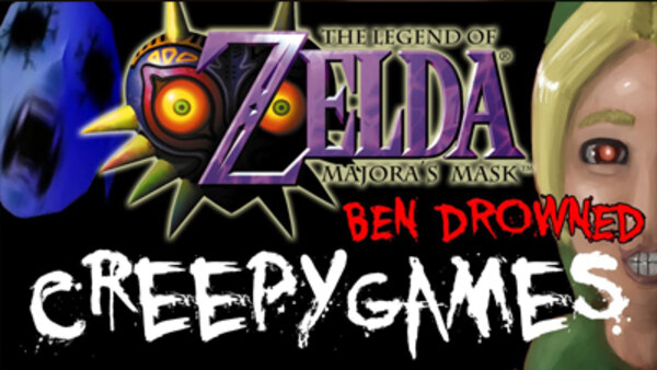 Creepy Games - Ep. 4 - Zelda Majora's Mask (BEN DROWNED)