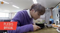 Inside Seventeen - Episode 7 - Mingyu's way of deliciously eating Yangpyeong Hangover soup