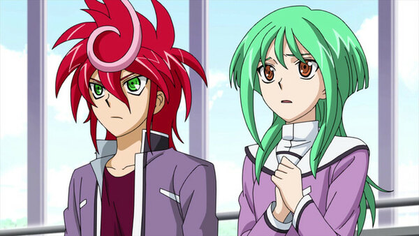 Cardfight!! Vanguard G GIRS Crisis episode 11-3 by