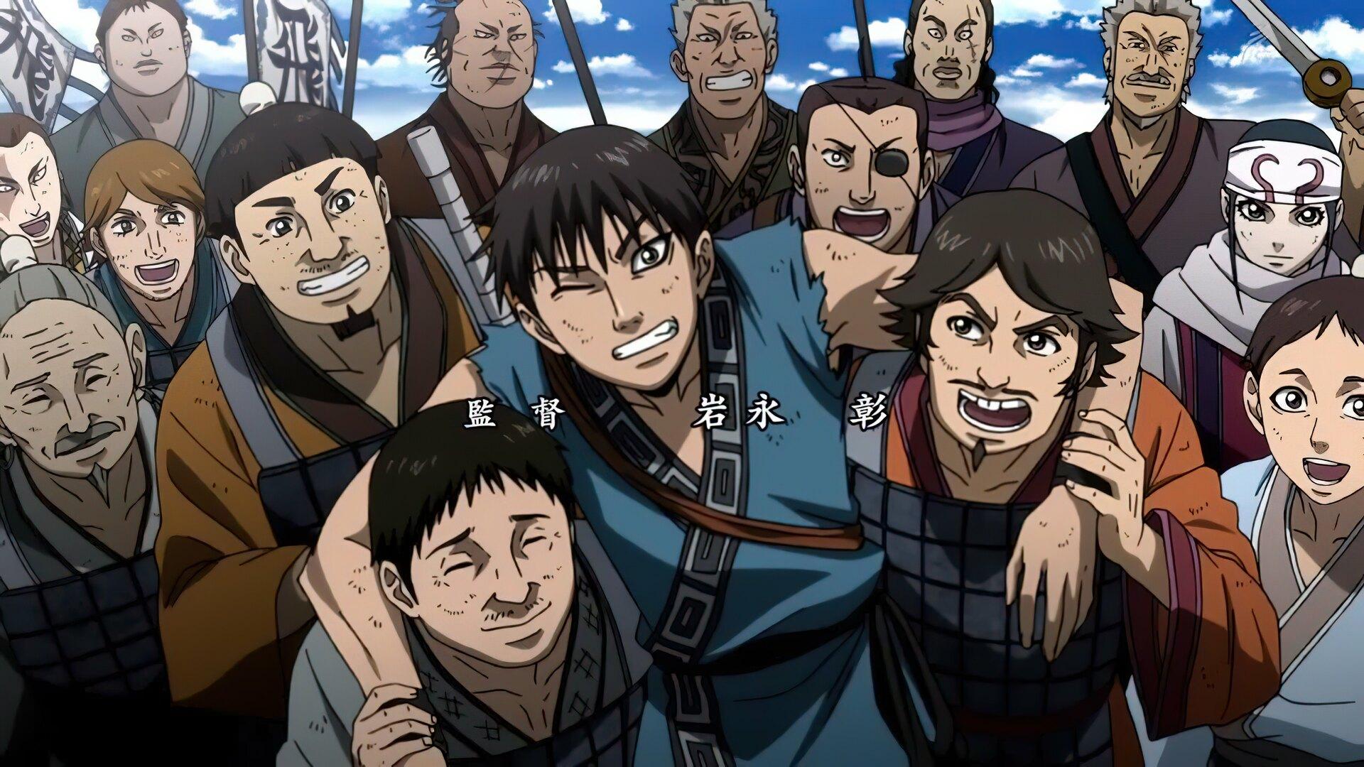 Kingdom (Anime TV 2020 - Now)