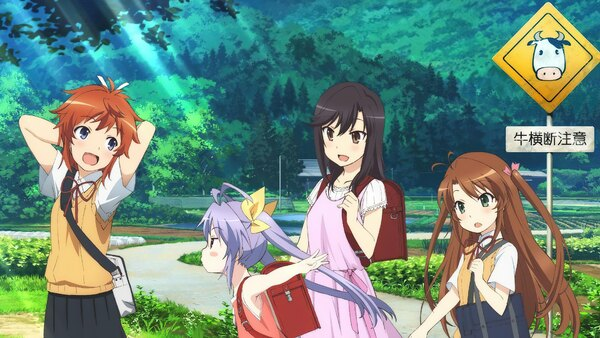 Non Non Biyori Nonstop - Ep. 12 - The Cherry Blossoms Bloomed Again