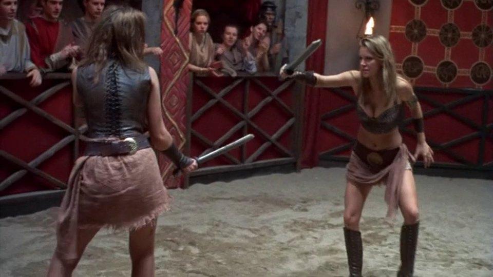 Кадры из фильма амазонки против викингов