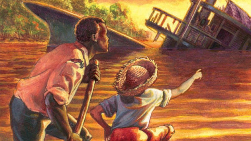 the portrayal of good and evil in the adventures of huckleberry finn Beneath the adventure story, huckleberry finn is a tale of huck's moral development and of what his realizations can teach us about race, slavery, southern society, and morality.