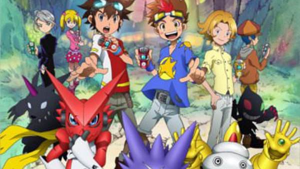 Digimon Xros Wars: Toki o Kakeru Shounen Hunter-tachi - Ep. 1 - We Are Digimon Hunters!