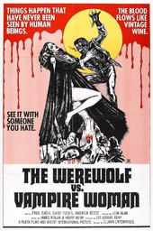 The Werewolf Versus the Vampire Woman