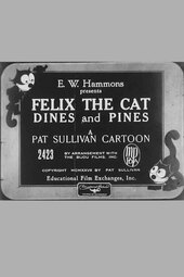 Felix the Cat Dines and Pines