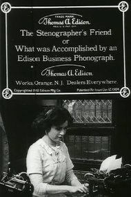 The Stenographer's Friend; Or, What Was Accomplished by an Edison Business Phonograph