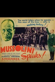 Mussolini Speaks