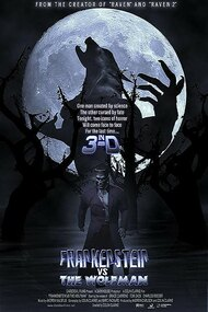 Frankenstein vs. the Wolfman in 3-D
