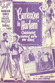 Burlesque in Harlem
